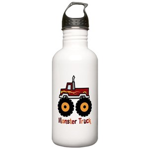 Kids Monster Truck Water Bottles Cafepress